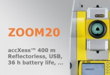 Geomax Total Station Zoom20 Series
