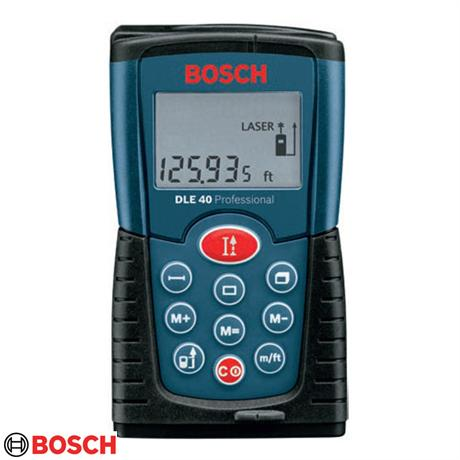 bosch dle 40 professional laser distance meter. Black Bedroom Furniture Sets. Home Design Ideas