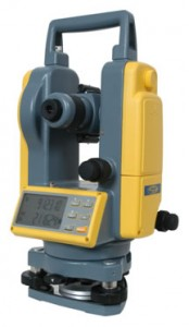 Trimble Electronic Digital Theodolite DET-2 Spectra Precision