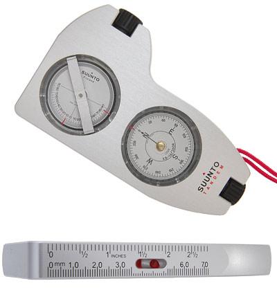 Suunto Tandem Clinometer With Precision Compass