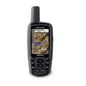 Garmin GPSMAP 62sc Color Screen, 5MP Camera Mapping Handheld GPS on