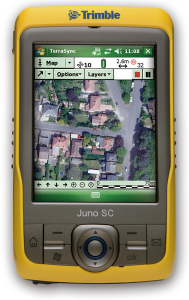 Trimble Juno SC Handheld GPS Data Collector