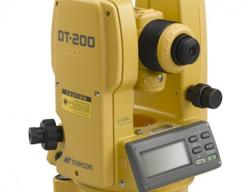 Topcon DT-200 Series Digital Theodolite