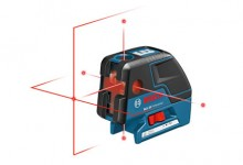Bosch GCL 25 Professional Point &#038; Crossline Laser
