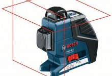 Bosch GLL 2-80P Professional Self Leveling Crossline Laser
