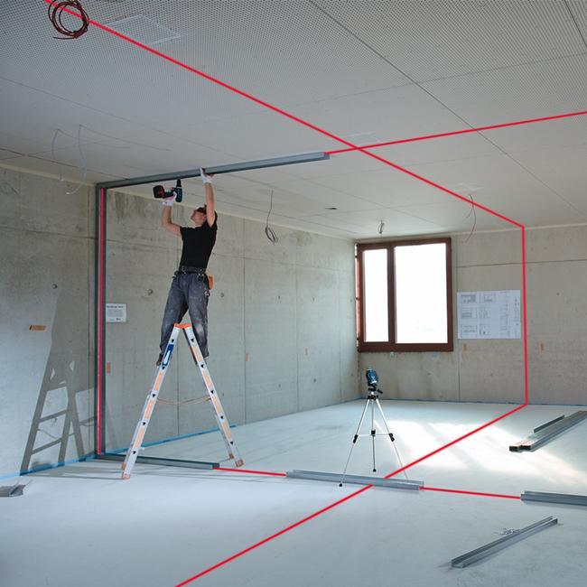bosch gll 3 80p professional self leveling crossline laser. Black Bedroom Furniture Sets. Home Design Ideas