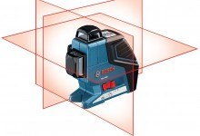 Bosch GLL 3-80P Professional Self Leveling Crossline Laser