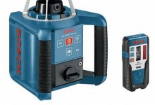 Bosch GRL 150HV Self Levelling Rotation Laser with Receiver