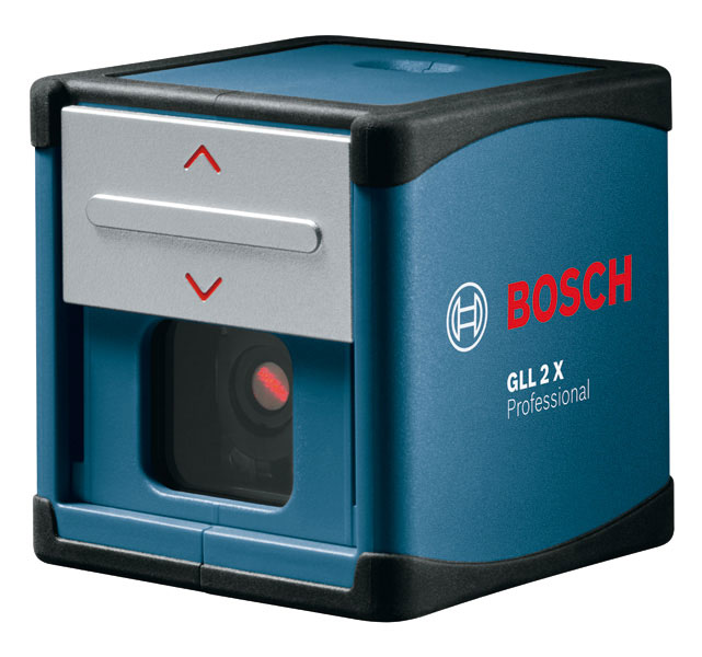 bosch gll 2x professional self leveling crossline laser. Black Bedroom Furniture Sets. Home Design Ideas