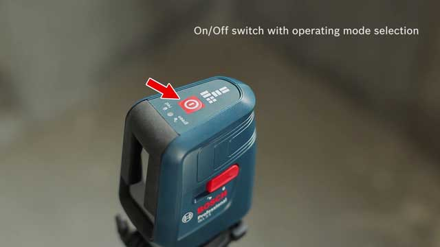 Bosch GLL-3X Professional Crossline-Laser  Features