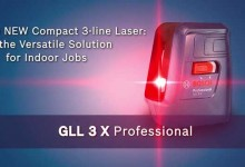 Bosch GLL 3X Professional Crossline Laser