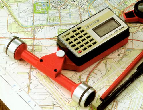 Sokkia Digital Planimeter KP-90N Series