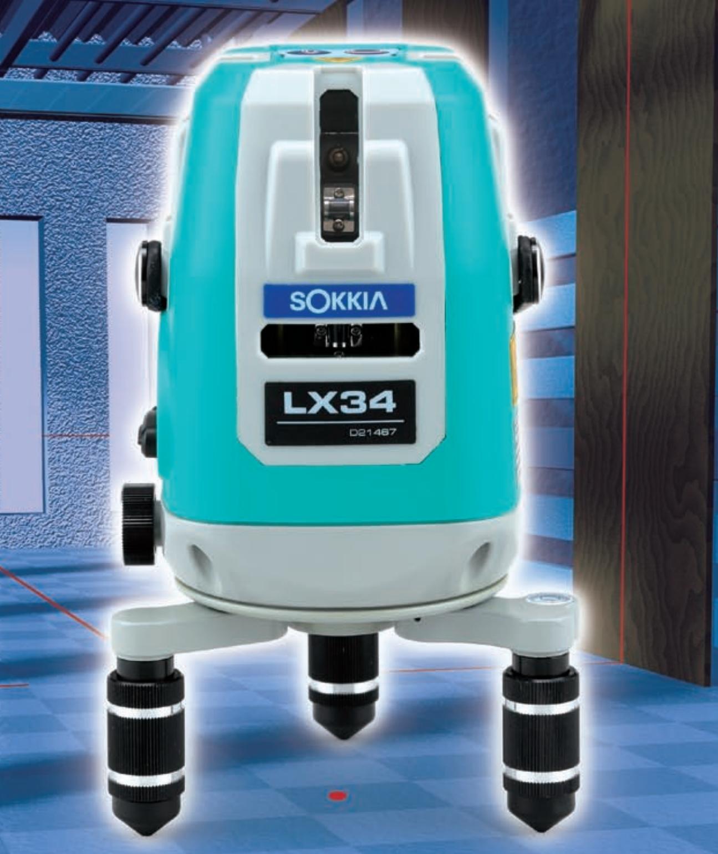 Sokkia Crossline Laser LX-32-LX-34