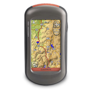 Garmin Oregon 450 Touch Screen Mapping GPS