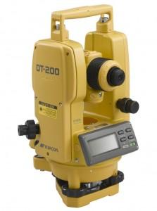 Topcon Electronic Theodolite DT 200 Series