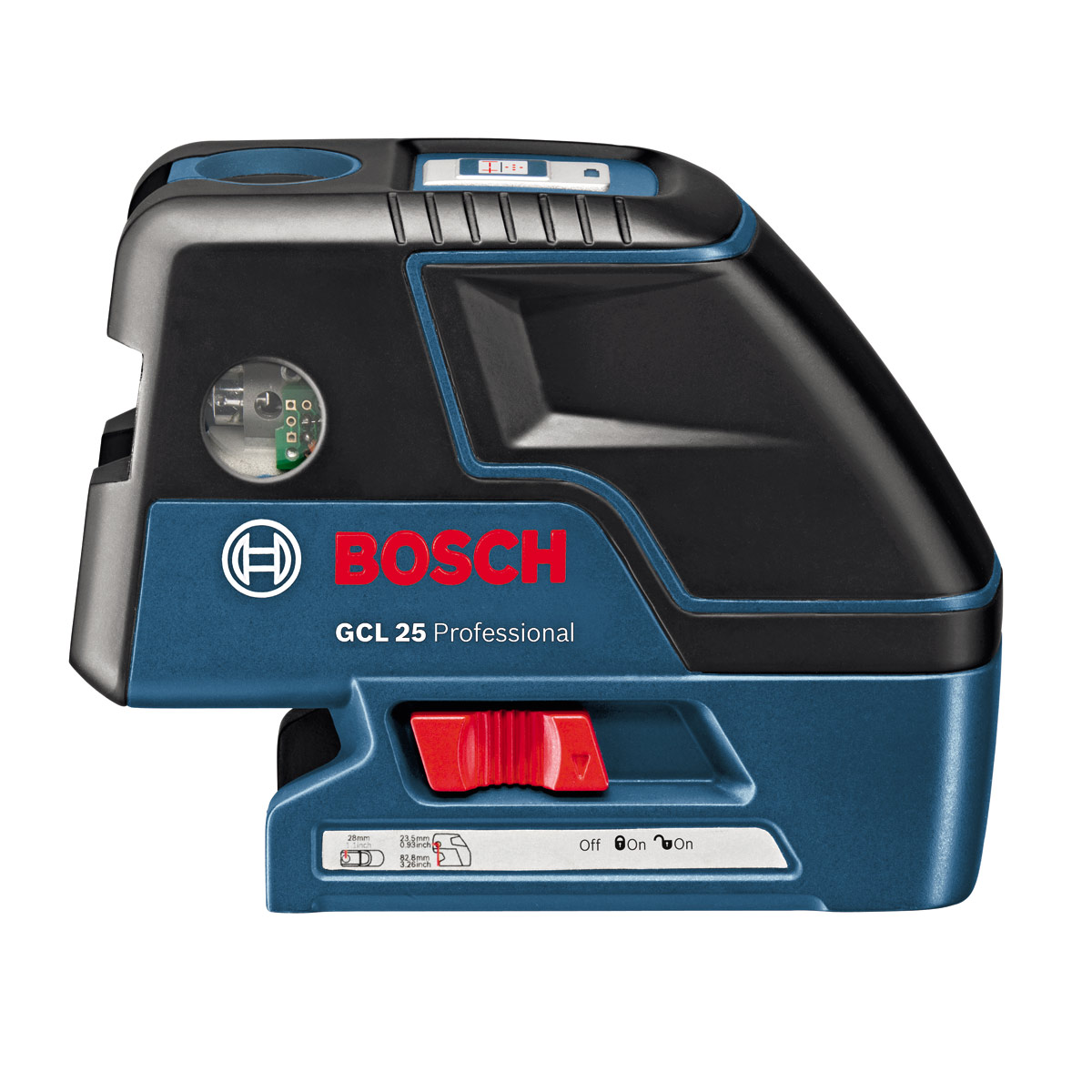 bosch gcl 25 professional point crossline laser. Black Bedroom Furniture Sets. Home Design Ideas