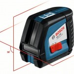 Bosch GLL2-50 Professional Self Levelling Line Laser