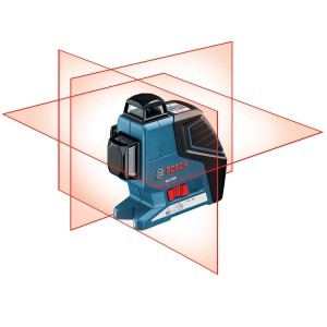 Bosch GLL 3-8P 360-Degree 3-Plane Leveling and Alignment Line Laser