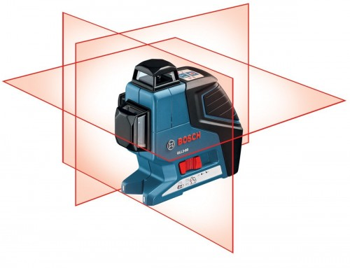 Bosch GLL 3-80P Professional Self Leveling Crossline Laser