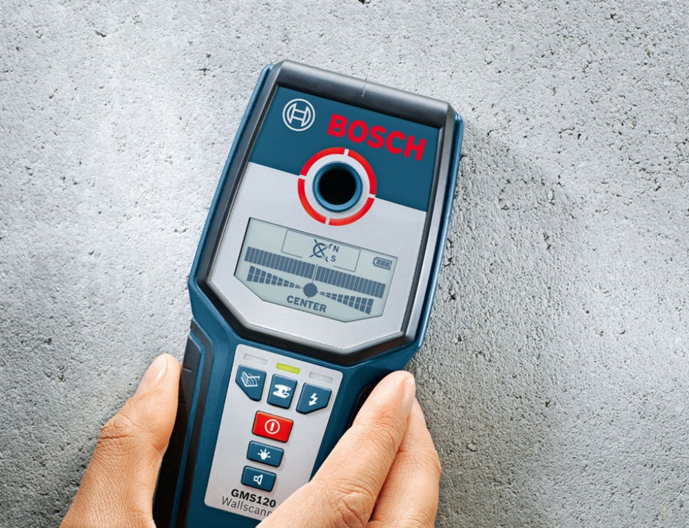 Bosch GMS 120 Professional Multi Material Cable Detector