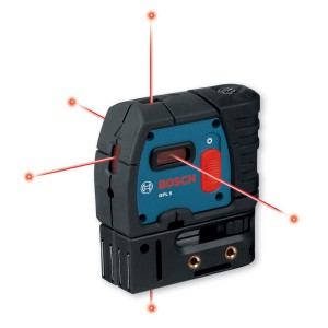 Bosch GPL5 5-Point Self-Leveling Laser
