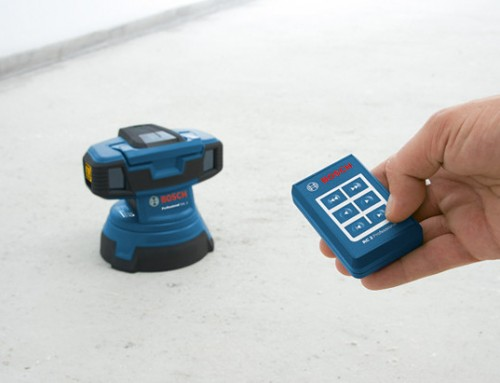 Bosch Creates World's First Surface Laser with Invention of the GSL 2 Surface Laser