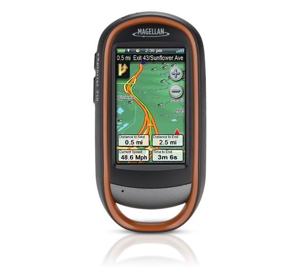 Magellan eXplorist 710 with World Edition Map