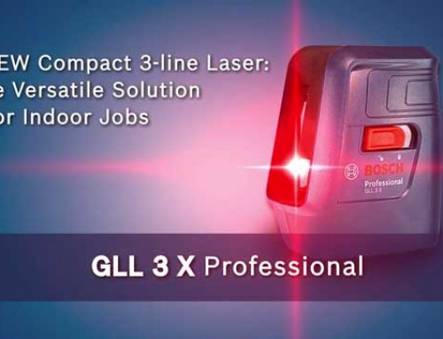 Bosch GLL 3X Professional Crossline Laser
