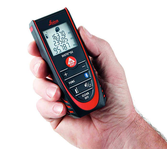 leica disto d2 100m range laser distance meter with bluetooth smart. Black Bedroom Furniture Sets. Home Design Ideas