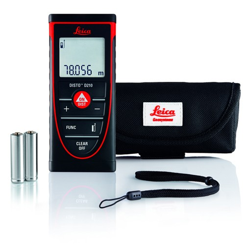 Leica Disto D210 Laser Measuring Meter