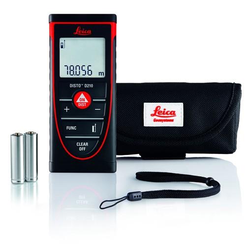 Leica Disto D210 Laser Measuring Meter