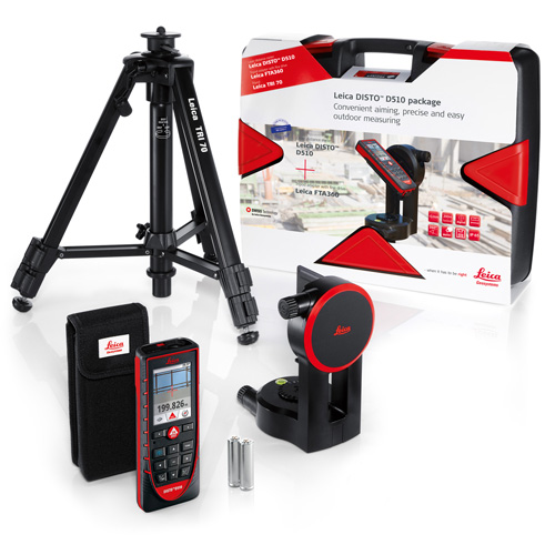 leica disto d510 with fta 360 adapter tri 70 tripod pro pack. Black Bedroom Furniture Sets. Home Design Ideas