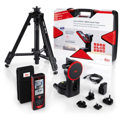 Leica Disto D810 Touch Combo Pack