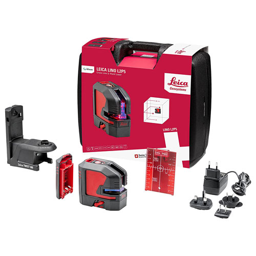 Leica Lino L2P5 Cross and Point Laser Level