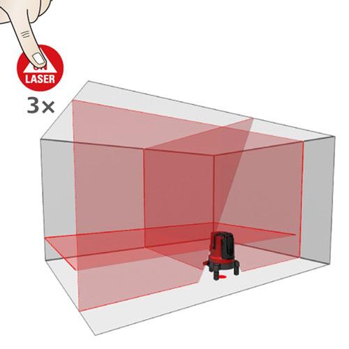 Leica Lino L4P1 Crossline & Point Laser Level