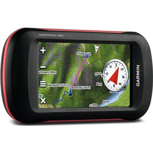 Garmin Montana 680 Mapping Handheld GPS