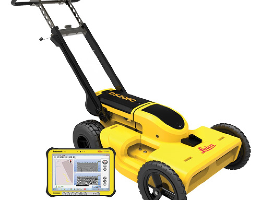 Leica DS2000 Utility Detection Radar – GPR