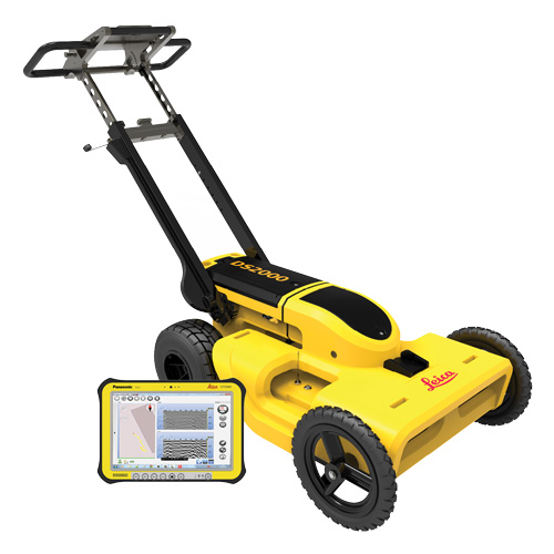 Leica DS 2000 Utility Detection Radar GPR