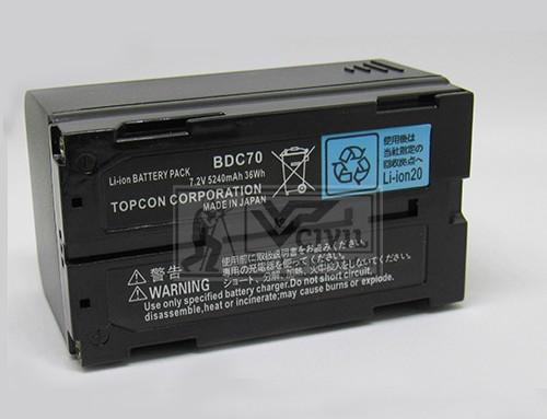 Topcon Sokkia BDC70 Battery