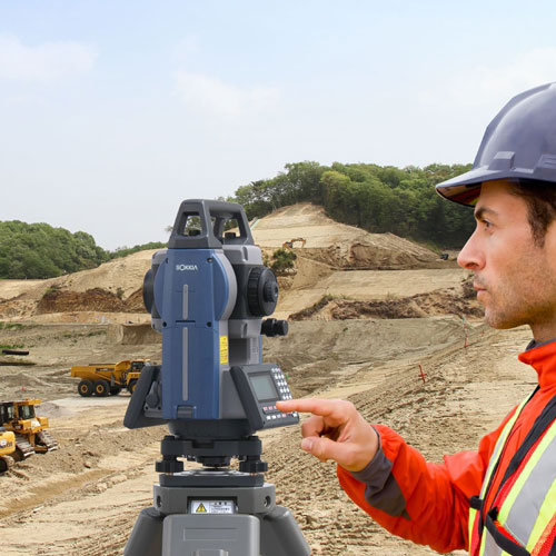 Sokkia iM-100 Series Total Station Operating