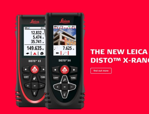 Leica Geosystems introduces new laser distance meters – Leica DISTO X Series