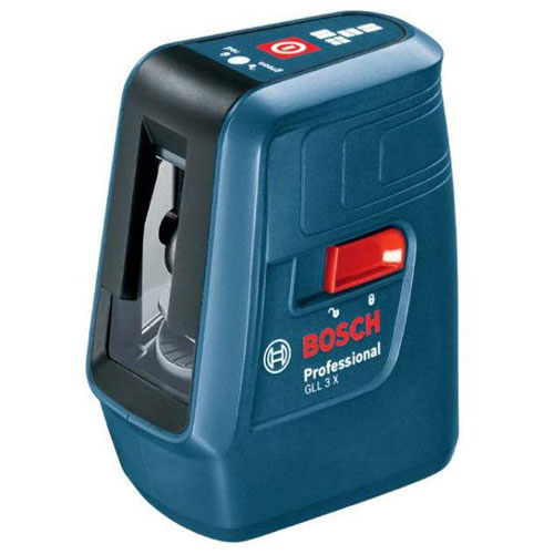 Bosch GLL 3X Crossline Laser Level