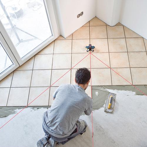 Bosch GTL-3 Tiling Work