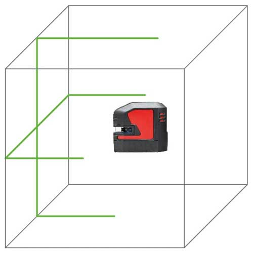 Leica Lino L2G Crossline Laser Level