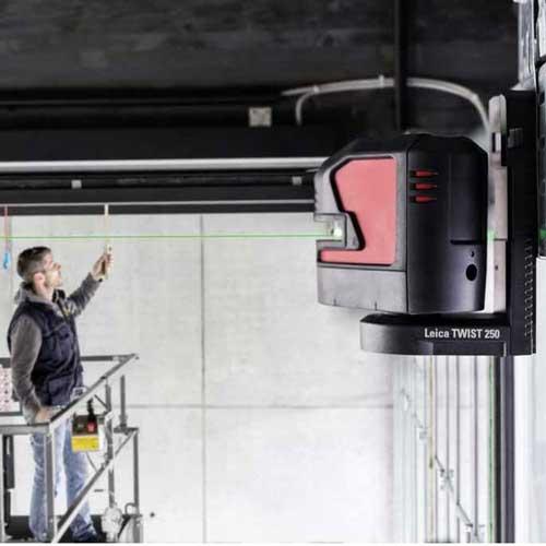 Leica Lino L2G Work Site
